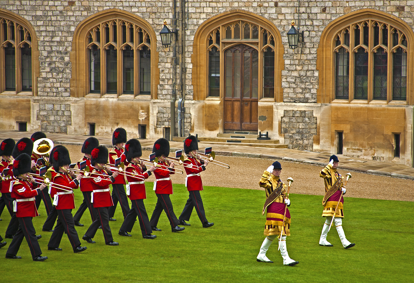 March off, Windsor